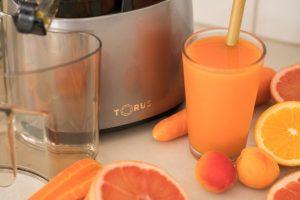 Torus Cold Press Slow Juicer Fruit Juice Detox Wellbeing 01